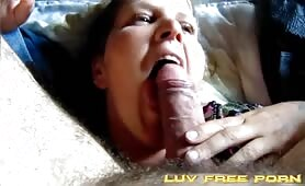 Just stick it in her face and she will lick till u cum